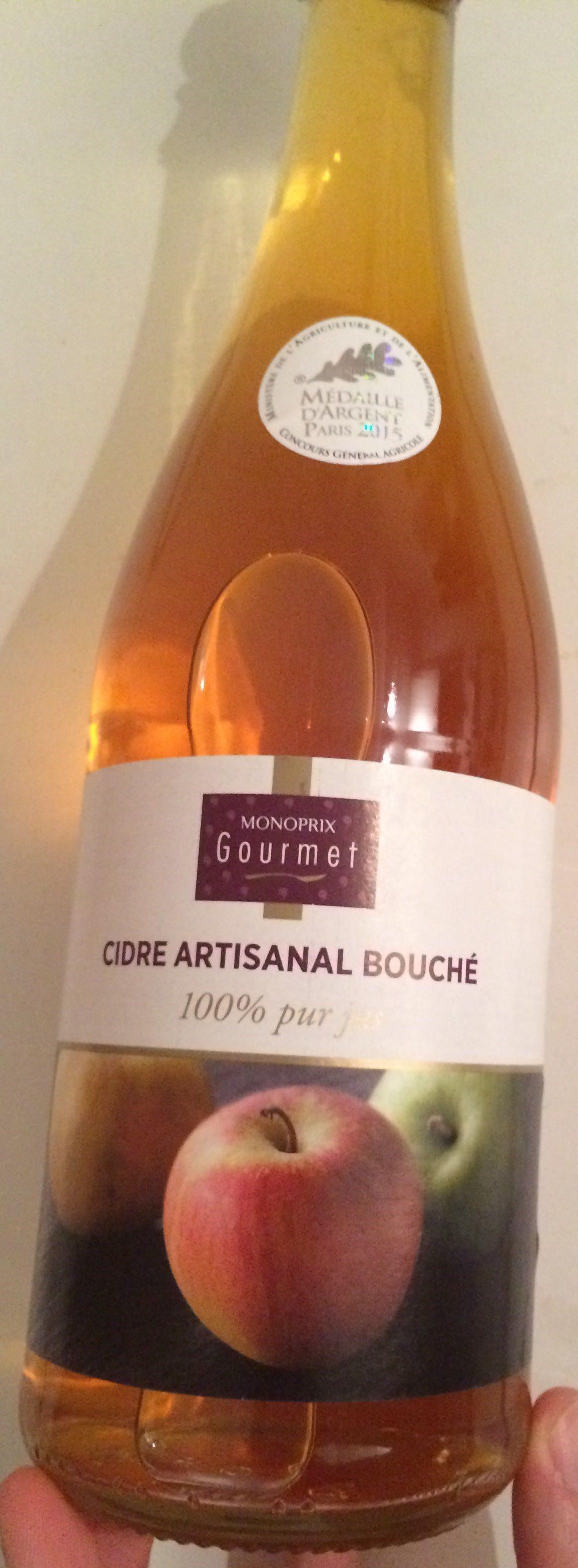 Cidre Artisanal Bouché - Product