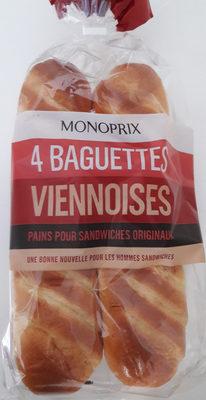 Baguettes viennoises - Produit