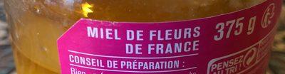Miel crémeux de fleurs de France - Ingredients - fr