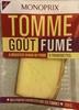 Tomme goût fumé - Product