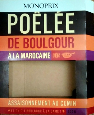 Poêlée de Boulgour à la Marocaine - Produit - fr