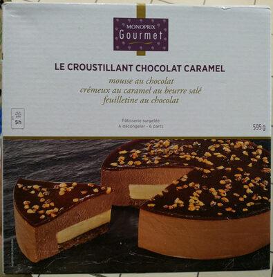 Le croustillant chocolat caramel - Produit - fr