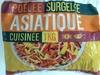Poêlée surgelée asiatique cuisinée - Product