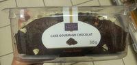 Cake gourmand chocolat fourrage chocolat - Produit - fr