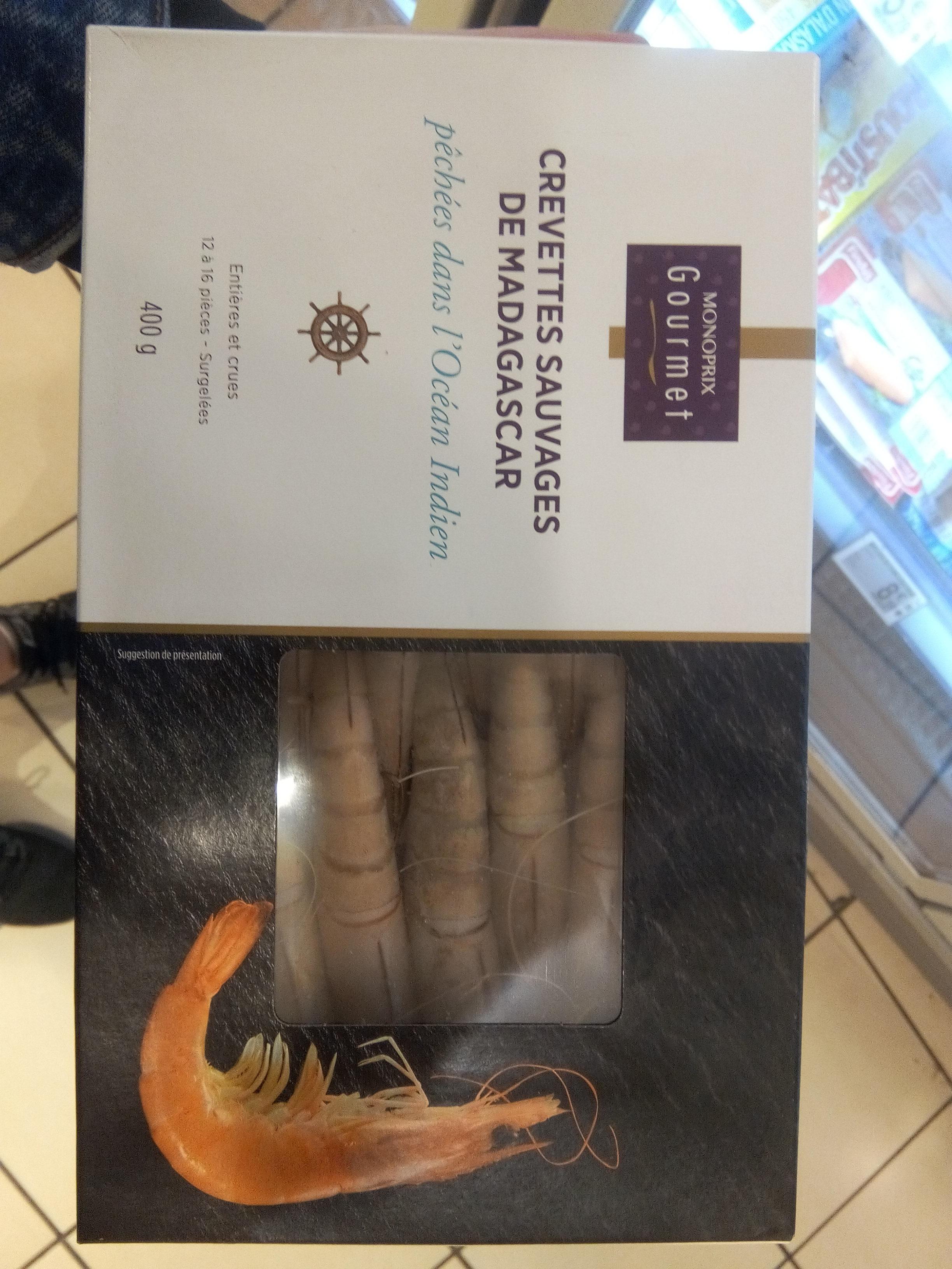 Crevettes sauvages de Madagascar - Product