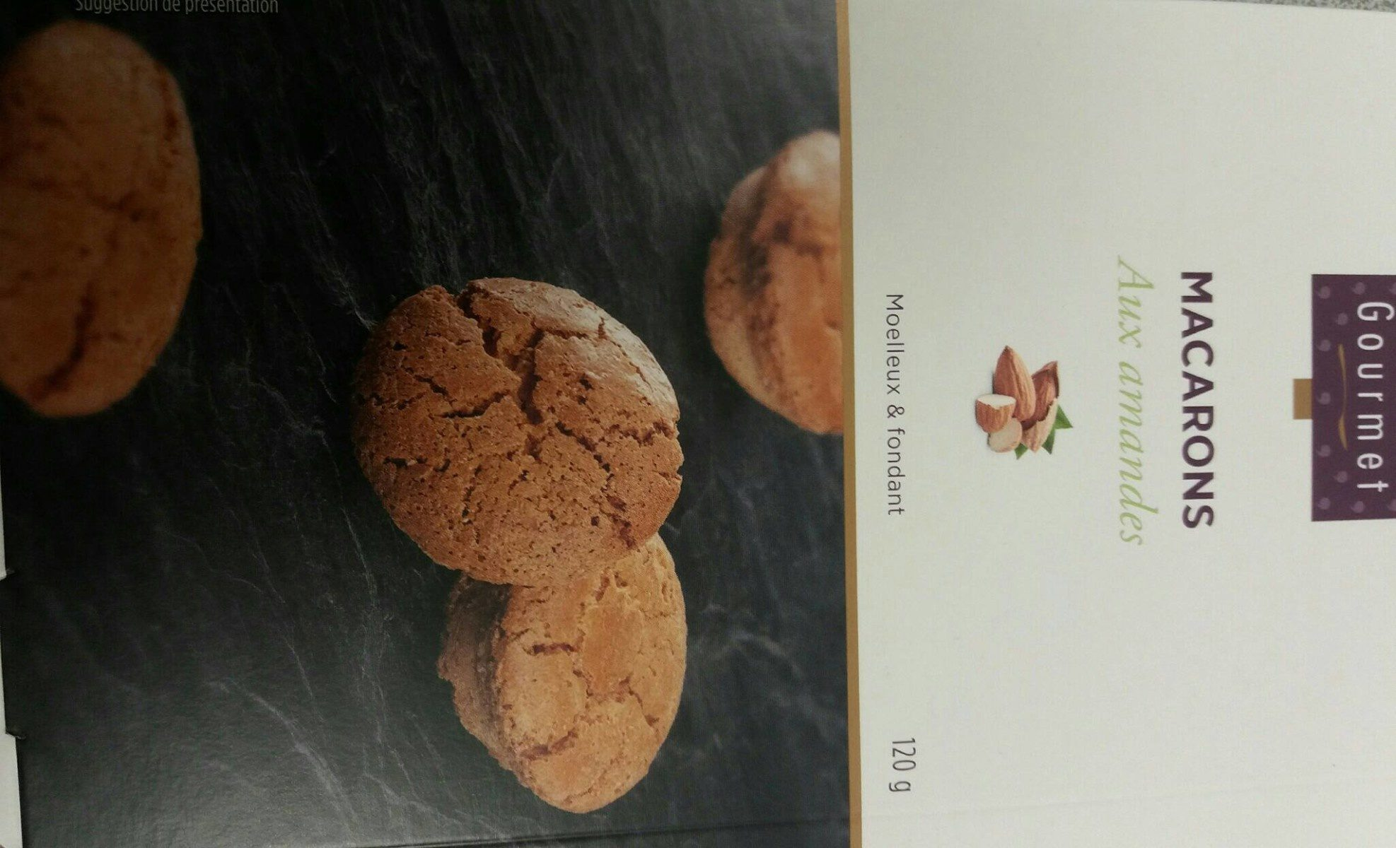 Macarons aux Amandes Sans Gluten - Produit - fr