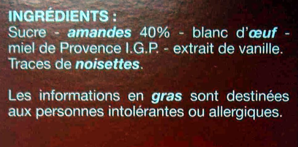 Macarons aux Amandes Sans Gluten - Ingrédients - fr