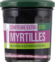 Confiture extra myrtilles - Prodotto - fr
