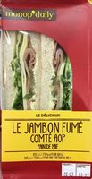 Le Jambon Fumé Comté AOP - Product
