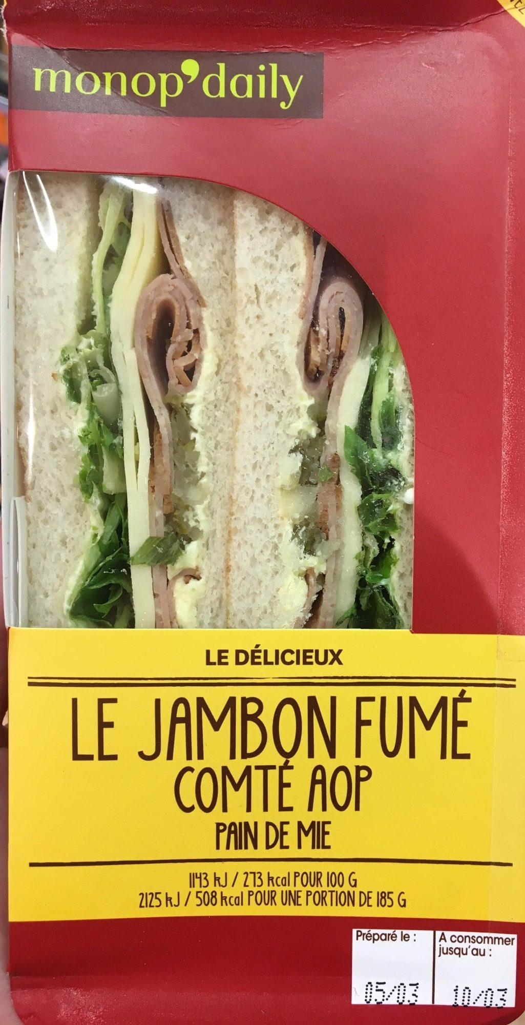 Le Jambon Fumé Comté AOP - Product - fr