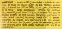Le Jambon Fumé Comté AOP - Ingrediënten - fr