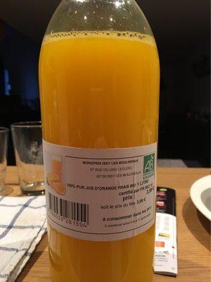 100% Pur Jus d'Orange Frais Bio - Product - fr