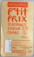 28 Bâtonnets Saveur Crabe - Product - fr