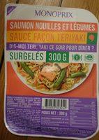 Saumon nouilles et légumes sauce façon teriyaki - Product