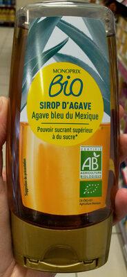 Sirop d'agave ambré bio - Produit - fr