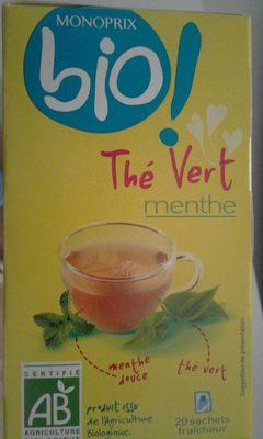 Thé Vert Menthe - Produit