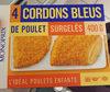 Cordons bleus de poulet surgelés - Product