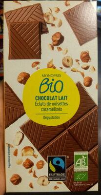 Chocolate lait dégustation éclats de noisettes - Produit