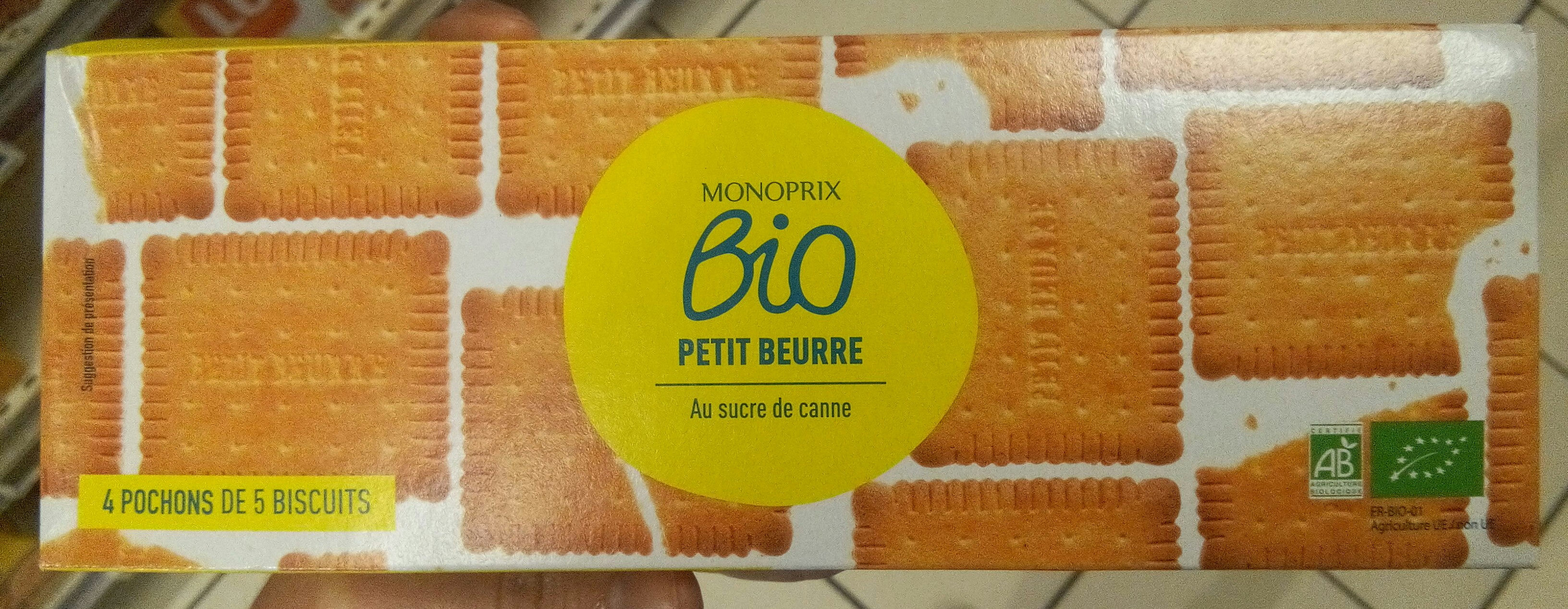 Petit beurre Monoprix bio - Product