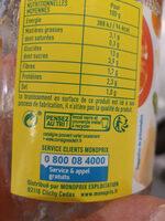 Ravioli végétariens - Istruzioni per il riciclaggio e/o informazioni sull'imballaggio - fr
