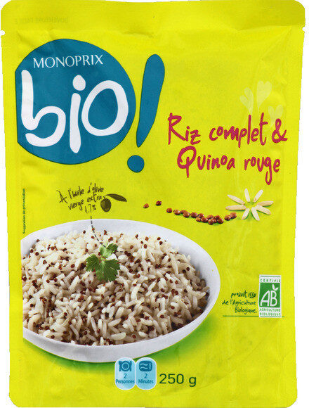 Riz complet & quinoa rouge bio - Prodotto - fr