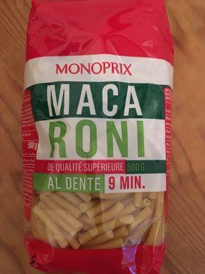 Macaroni de qualité supérieure - Product - fr