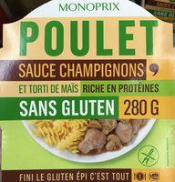 Poulet sauce Champignons et Torti de maïs - Produit