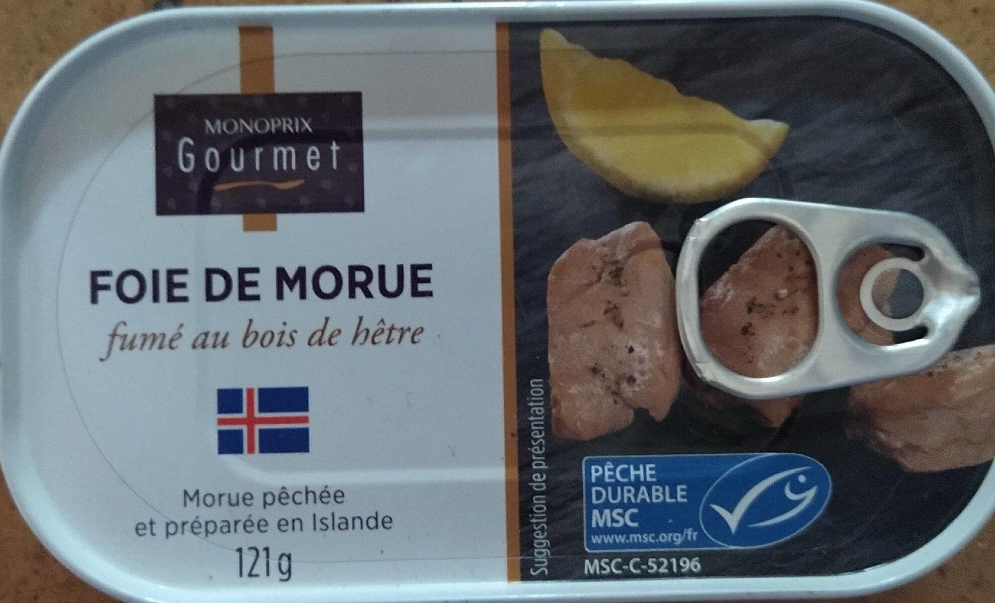 Foie de morue - Produit - fr