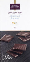 Chocolat noir à la pointe de fleur de sel - Produit - fr