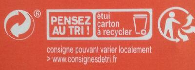 Penne de lentilles corail - Recyclinginstructies en / of verpakkingsinformatie - fr