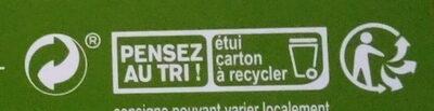 Fusilli, spécialité de farine de pois cassés, sans gluten - Instruction de recyclage et/ou informations d'emballage - fr