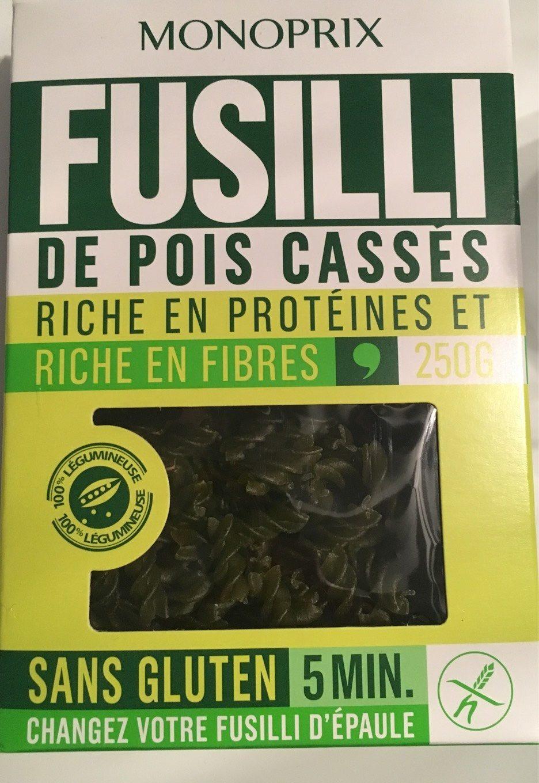 Fusilli de Pois Cassés - Prodotto - fr