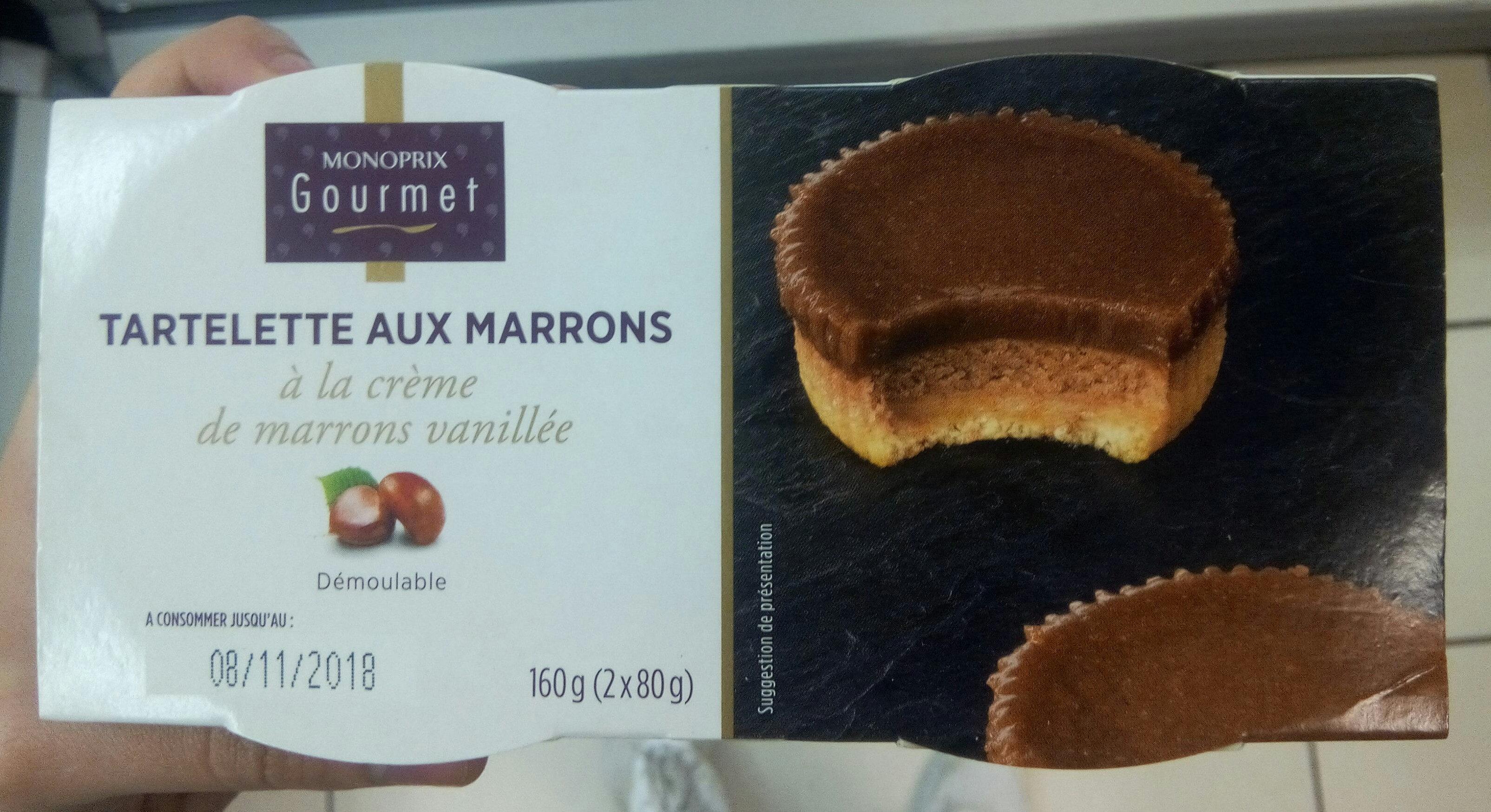 Tartelette aux marrons - Product - fr