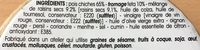 Salade de Pois Chiche, Feta et Raisins Secs - Ingrediënten