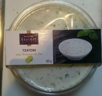 Tzatziki aux brisures de feta - Product - fr