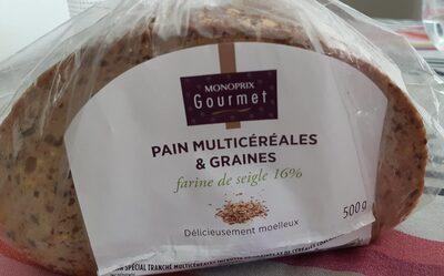 Pain multicereales et graines - Produit - fr