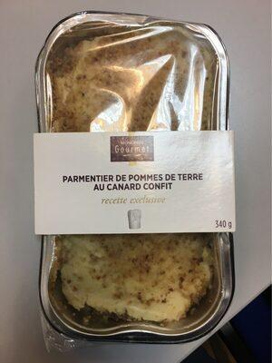 Parmentier de pommes de terre au canard confi - Produit - fr