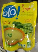 Soupe petits pois et légumes verts - Produit