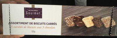 Assortiment de biscuits carrée - Product