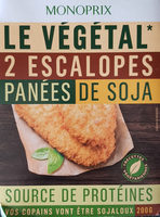 Escalopes panées de soja - Product