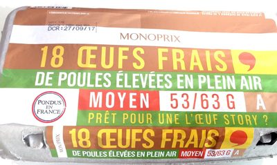 Oeufs frais - Product - fr
