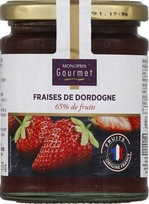 Confiture Fraises de Dordogne - Produit - fr