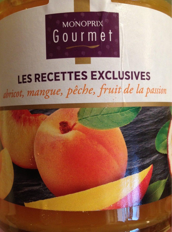confiture abricot fruit de la passion