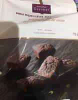 Mini moelleux au chocolat - Product - fr