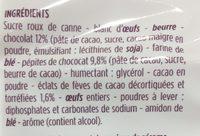 Mini moelleux au chocolat - Ingrediënten - fr