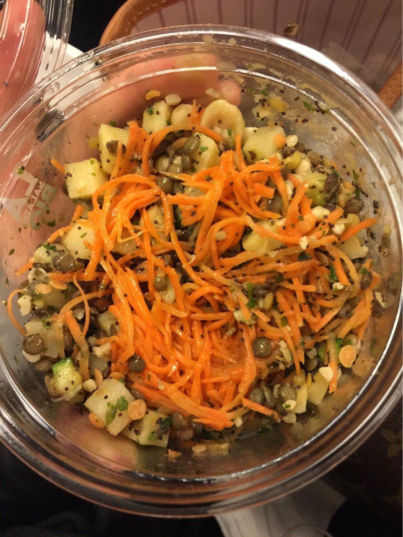 LA salade bio Lentilles Panais - Product - fr