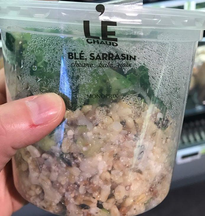 Blé sarrasin chèvre kale - Produit - fr