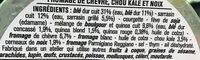 Blé sarrasin chèvre kale - Ingrédients - fr