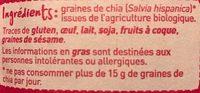 Graines de Chia - Ingrediënten - fr