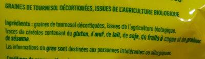 Graines de Tournesol - Ingrediënten - fr
